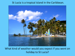Comparing the weather of St Lucia and the UK - cover image 2