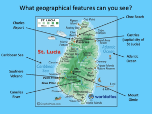 Identifying human and physical features of St Lucia - cover image 2