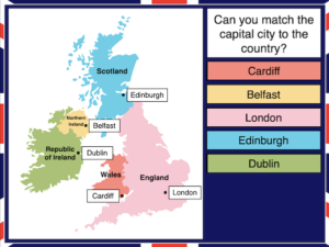 Identifying the counties and capitals of the UK and Ireland - cover image 1