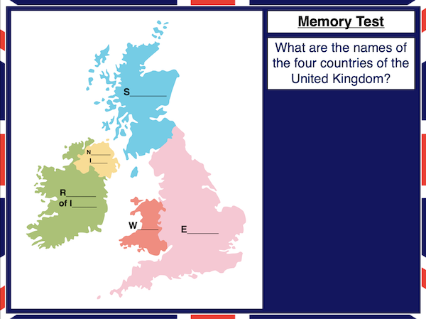 Identifying the counties and capitals of the UK and Ireland - cover image 2