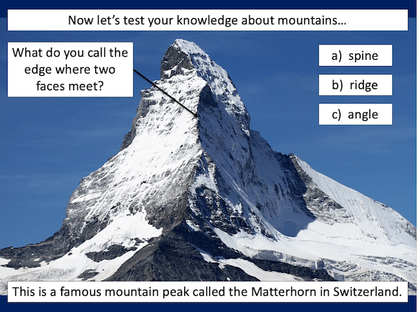 Identifying the key features of mountains - cover image 1