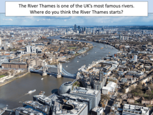 Investigating features of the River Thames - cover image 1