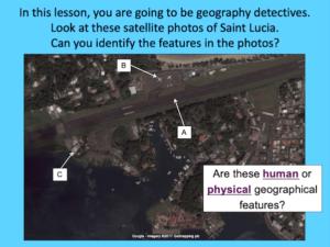Investigating satellite photos of St Lucia - cover image 1