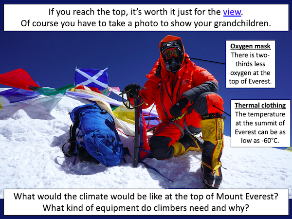 Investigating the climate of a mountain environment - cover image 1