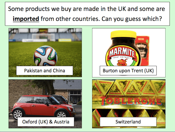 Investigating where products come from - cover image 1