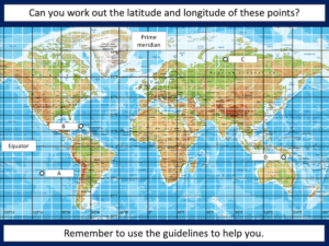 Reading latitude and longitude coordinates with greater accuracy - presentation 4