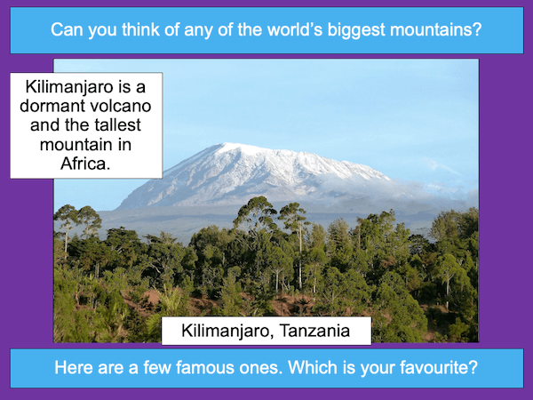 Researching the world's famous mountains - cover image 1