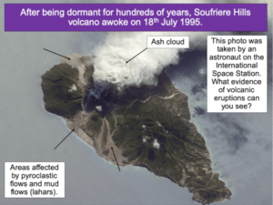 Exploring the effects of volcanic eruptions on Montserrat - cover image 1