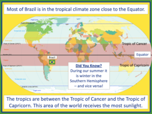 Investigating Brazil's weather and climate - presentation 3