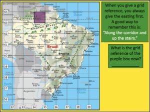 Locating Brazilian cities using 4 and 6-figure grid references - presentation 2