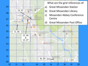 Locating features of Great Missenden using grid refs and compass directions - cover image 1
