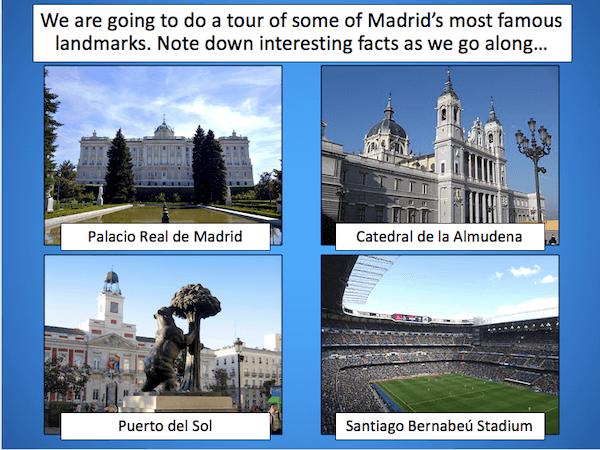 Tour of Madrid - cover image - presentation 1