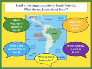 Writing a Brazil fact file - presentation 1