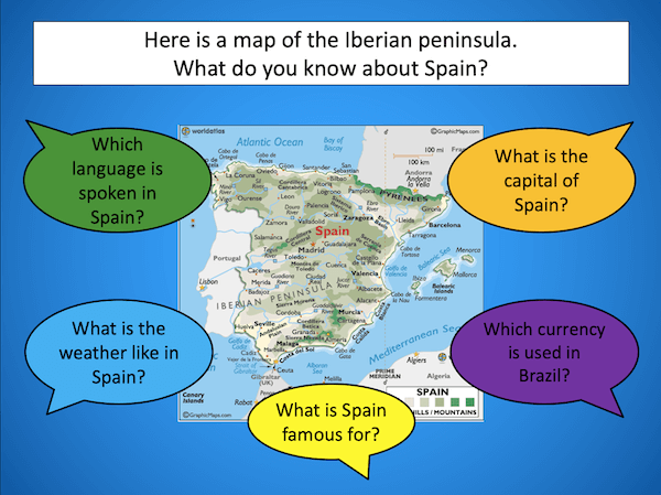 Writing a Spain fact file - cover image 3