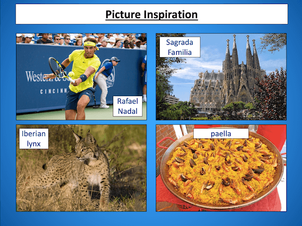 Writing a Spain fact file - cover image 5