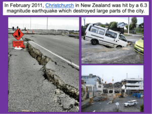 Writing a fact file about a famous earthquake - cover image 1